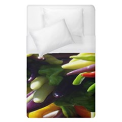 Bright Peppers Duvet Cover (single Size) by BangZart