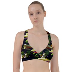 Bright Peppers Sweetheart Sports Bra