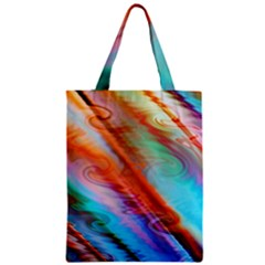 Cool Design Zipper Classic Tote Bag by BangZart