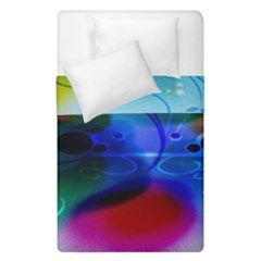 Abstract Color Plants Duvet Cover Double Side (single Size)