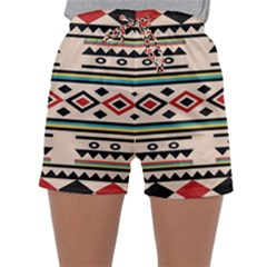 Tribal Pattern Sleepwear Shorts