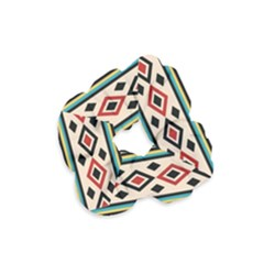 Tribal Pattern Velvet Scrunchie