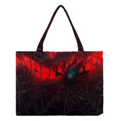 Spider Webs Medium Tote Bag by BangZart