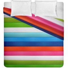 Colorful Plasticine Duvet Cover Double Side (king Size) by BangZart