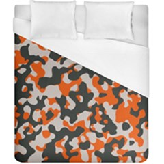 Camouflage Texture Patterns Duvet Cover (california King Size) by BangZart