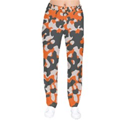Camouflage Texture Patterns Drawstring Pants by BangZart