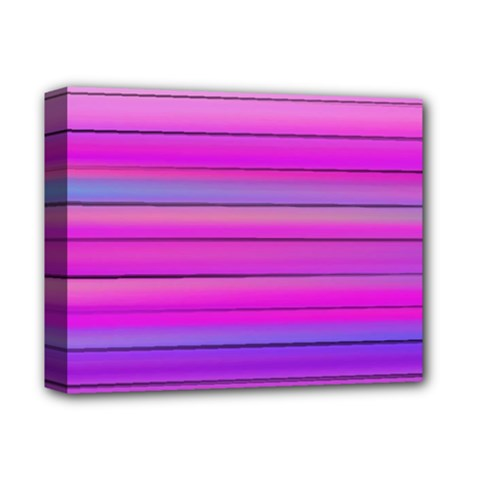 Cool Abstract Lines Deluxe Canvas 14  X 11  by BangZart