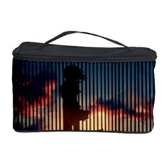 Art Sunset Anime Afternoon Cosmetic Storage Case by BangZart