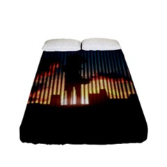 Art Sunset Anime Afternoon Fitted Sheet (full/ Double Size) by BangZart