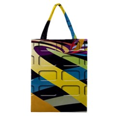 Colorful Docking Frame Classic Tote Bag by BangZart