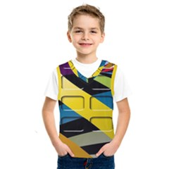 Colorful Docking Frame Kids  Sportswear by BangZart