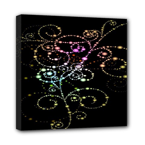 Sparkle Design Mini Canvas 8  X 8  by BangZart