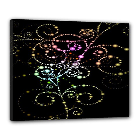 Sparkle Design Canvas 20  X 16  by BangZart