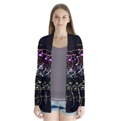 Sparkle Design Drape Collar Cardigan by BangZart