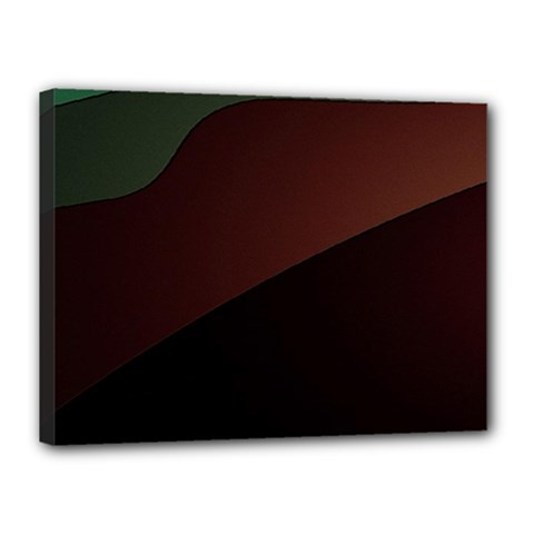 Color Vague Abstraction Canvas 16  X 12  by BangZart