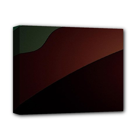 Color Vague Abstraction Deluxe Canvas 14  X 11  by BangZart