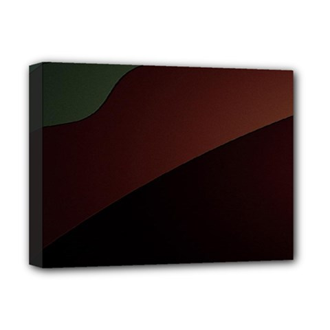 Color Vague Abstraction Deluxe Canvas 16  X 12   by BangZart