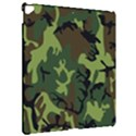 Military Camouflage Pattern Apple iPad Pro 12.9   Hardshell Case View2