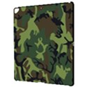 Military Camouflage Pattern Apple iPad Pro 12.9   Hardshell Case View3