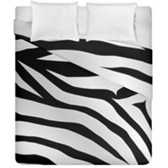 White Tiger Skin Duvet Cover Double Side (california King Size) by BangZart