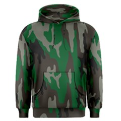 Army Green Camouflage Men s Pullover Hoodie by BangZart