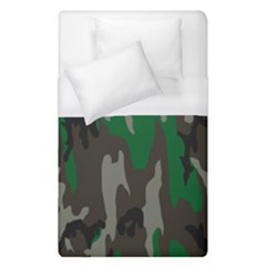 Army Green Camouflage Duvet Cover (single Size) by BangZart