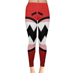Funny Angry Leggings  by BangZart