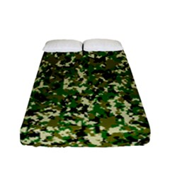 Camo Pattern Fitted Sheet (full/ Double Size) by BangZart