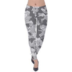 Camouflage Patterns Velvet Leggings