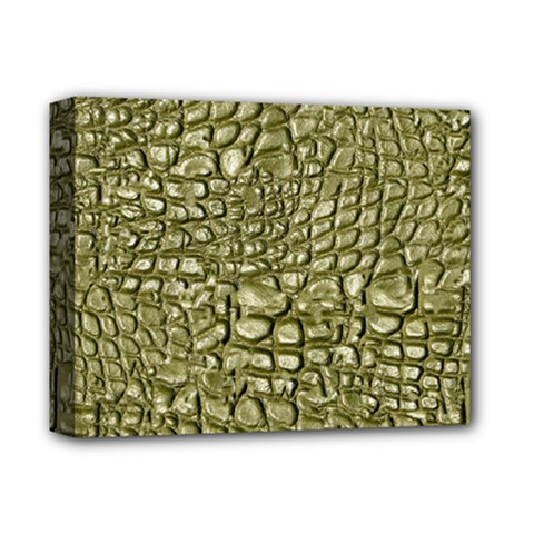 Aligator Skin Deluxe Canvas 14  X 11  by BangZart