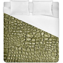 Aligator Skin Duvet Cover (king Size) by BangZart