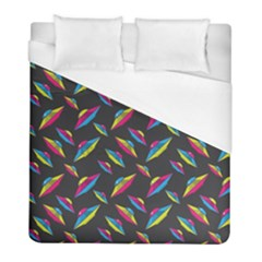 Alien Patterns Vector Graphic Duvet Cover (full/ Double Size) by BangZart