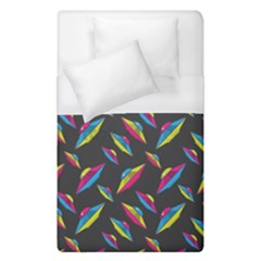 Alien Patterns Vector Graphic Duvet Cover (single Size) by BangZart