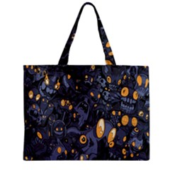 Monster Cover Pattern Zipper Mini Tote Bag by BangZart