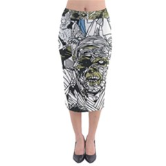 The Monster Squad Midi Pencil Skirt by BangZart