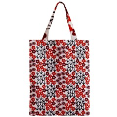 Simple Japanese Patterns Zipper Classic Tote Bag by BangZart