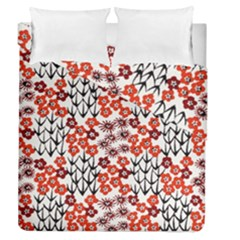 Simple Japanese Patterns Duvet Cover Double Side (queen Size) by BangZart
