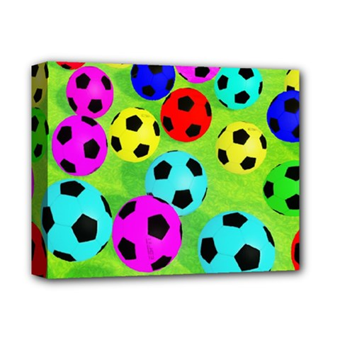 Balls Colors Deluxe Canvas 14  X 11  by BangZart