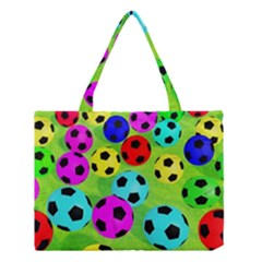 Balls Colors Medium Tote Bag by BangZart