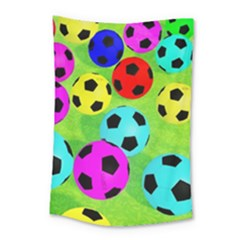 Balls Colors Small Tapestry