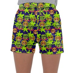 Smiley Monster Sleepwear Shorts