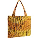 Yellow Chevron Zigzag Pattern Mini Tote Bag View2