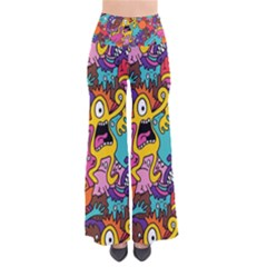 Monster Patterns Pants by BangZart