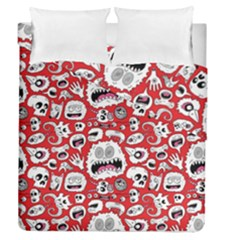 Another Monster Pattern Duvet Cover Double Side (queen Size) by BangZart