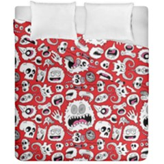 Another Monster Pattern Duvet Cover Double Side (california King Size)
