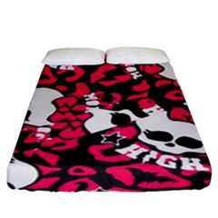 Mattel Monster Pattern Fitted Sheet (king Size) by BangZart