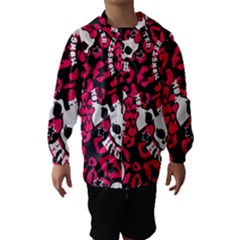 Mattel Monster Pattern Hooded Wind Breaker (kids) by BangZart