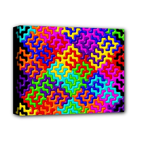 3d Fsm Tessellation Pattern Deluxe Canvas 14  X 11  by BangZart