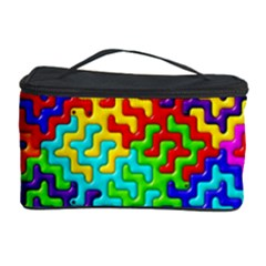 3d Fsm Tessellation Pattern Cosmetic Storage Case by BangZart
