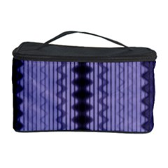 Zig Zag Repeat Pattern Cosmetic Storage Case by BangZart